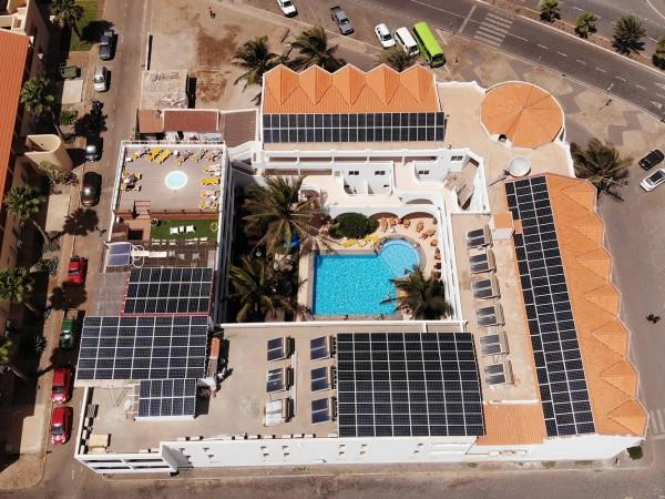 hotel solar panel